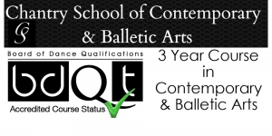 Chantry School of Balletic & Contemporary Arts - 3 Year Course in Contemporary & Balletic Art
